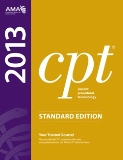 2013 CPT Codes - Standard Edition